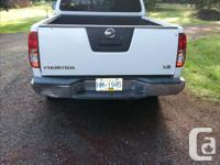 Make Nissan Model Frontier Year 2005 Colour white kms