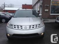 2005 Nissan Murano.Automatique.Completement Equipe.