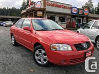 Make Nissan Model Sentra Year 2005 Colour Red kms