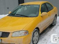 Make Nissan Model Sentra Year 2005 Colour Yellow kms