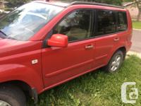 Make Nissan Model X-Trail Year 2005 Colour red kms