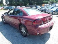 Make Pontiac Model Grand Am Year 2005 Colour Red kms