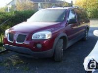 2005 Pontiac Montana - 7 Traveler. Totally Filled -