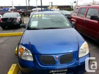 2005 PONTIAC PURSUIT 4 DOOR SEDAN - 4 CYLINDER ENGINE-