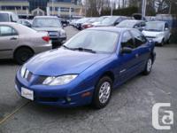 Make Pontiac Model Sunfire Year 2005 Colour Blue kms