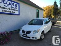 Make Pontiac Model Vibe Year 2005 kms 118000 Great