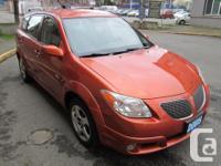 Make Pontiac Model Vibe Year 2005 Colour Orange kms