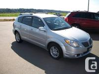 Make Pontiac Model Vibe Year 2005 Colour Silver kms