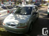 2005 Pontiac Wave, Automatic, 27 Months Powertrain