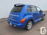 Make Chrysler Model PT Cruiser Colour Blue kms 144000