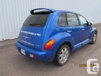 Make Chrysler Model PT Cruiser Colour Blue kms 144000