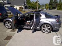 I'm selling my 2005 RX8 Grand Touring Gun Metal Grey 6