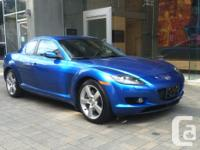 Make Mazda Model RX-8 Year 2005 Colour Blue kms 80523