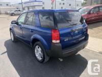 Make Saturn Model VUE 4dr SUV Year 2005 Colour BLUE
