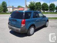 Make Saturn Model VUE Year 2005 Colour Green kms