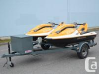 MINT CONDITION !!!  Deal.  Two 2005 Sea Doo 3D Premiums