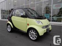 Make Smart Model FORTWO Year 2005 Colour Yellow kms