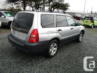 Make Subaru Model Forester Year 2005 Colour grey kms