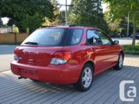Make Subaru Year 2005 Colour Red kms 115508 Trans