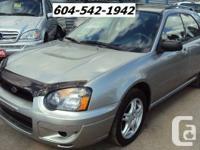 2005 Subaru Impreza Wagon 2.5 RS   Kilometers: 203,000