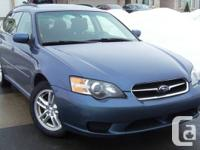 I'm selling my 2005 Subaru Legacy Wagon 2.5i AWD in