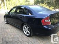 Nice example of Subaru's performance sedan Turbocharged