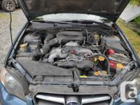Make Subaru Model Legacy Wagon Year 2005 Colour Blue