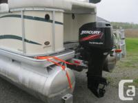 JUST ARRIVED! 2005 Sweetwater Challenger 18' Pontoon