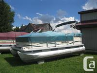 2005 Sweetwater Challenger 18' Pontoon Boat w/50hp