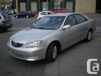 Toyota Camry2005 Automatic 4-cylinder, Excellent