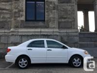 2005 Toyota Corolla CE with 133k. Nice clean little