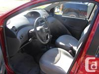 Make Toyota Model Echo Year 2005 Colour Red kms 249000