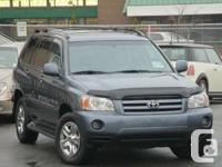 2005 Toyota Highlander V6 4WD  Year :2005 Make: