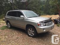Make Toyota Model Highlander Year 2005 Colour Grey kms