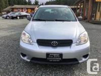 Make Toyota Model Matrix Year 2005 Colour Grey kms