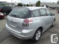 Make Toyota Model Matrix Year 2005 Colour Silver kms
