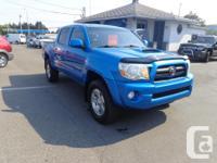 Make Toyota Model Tacoma Colour Blue Trans Manual kms
