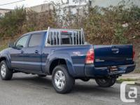 Make Toyota Model Tacoma Year 2005 Colour Blue kms