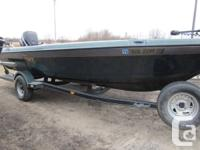2005 Tuffy 1990 ESOX Deep V with 3 seats, a butt seat,