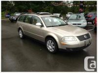 2005 Volkswagen Passat Kilometres 127,702 1.8L $