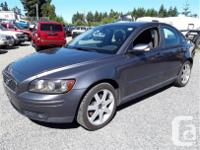 Make Volvo Model S40 Year 2005 Colour grey kms 232295, used for sale  British Columbia