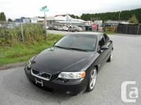 2005 VOLVO S60R WITH MANUAL TRANSMISSION THIS VEHICLE for sale  British Columbia