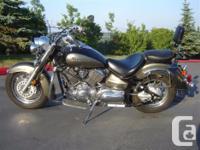 2005 Yamaha 1100 V/Star Classic $4699 plus 5% GST and