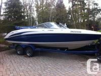 Boat in excellent condition.  Bimini Top, Twin Engine,