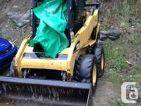 The 2006 caterpillar skid-steer is a 242b loader. Turbo