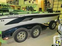 2006 Ranger 620T Fisherman with a cover, wave wackers,