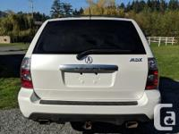 Make Acura Model MDX Year 2006 Colour White kms 224866