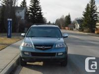 Make Acura Model MDX Year 2006 Colour Blue kms 142000