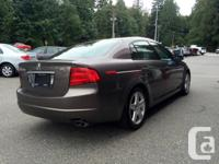 Make Acura Model TL Year 2006 Colour GREY kms 189559