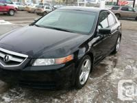 Make Acura Model TL Year 2006 Colour Black kms 195000